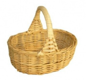 Childs XSmall Wicker Shopping Basket
