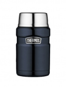 Genuine Thermos Brand Stainless King Food Flask Blue 0.7L