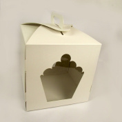 Giant Cupcake Box with Handle and 2 Windows 23cm