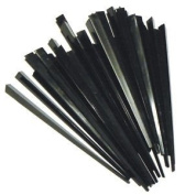 100 Contemporary Black Prism Cocktail Sticks 8.9cm Long