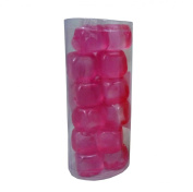 High Quality Pink 18 x Reusable Ice Cubes Party Picnic BBQ