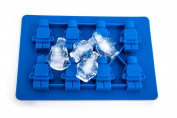 Mini figure shape ice tray in Blue