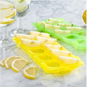 Ice 'N Slice Trays Yellow and Green
