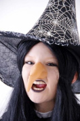 Fancy Dress-Gothic-Halloween Rubber Witches Nose Dressing up Fancy Dress accessory