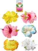 Hawaiian Hibiscus Hair Clip, Hula Fancy Dress
