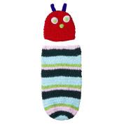 Baby Girls Boy Newborn-9M Knit Crochet Caterpillar Style Clothes Photo Prop Outfits