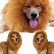 Large Pet Costume Lion Mane Wig for Dog