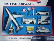 British Airways Toy Airport Playset for Age 3+ PP-BA6261