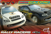 Micro Scalextric 1:64 Scale Rally Racers Race Set