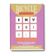 Invisible Deck Bicycle (Blue) - Trick