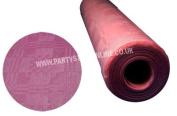 Pink Paper Banquet Roll 8M X 1.2M