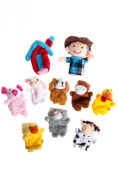 Old MacDonald Farm Animals Finger Puppets