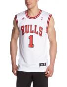 adidas Men's Chicago Bulls Derrick Rose NBA Replica Jersey
