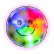 Light Up Smile Face Stickers