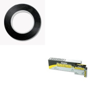 KITCOS098077EVEEN91 - Value Kit - Cosco Art Tape (COS098077) and Energizer Industrial Alkaline Batteries