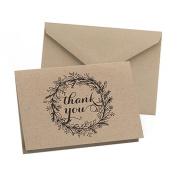 Hortense B. Hewitt 50 Count Krafty Thank You Cards