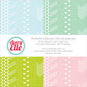 Avery Elle Double-Sided Paper Pad 15cm x 15cm 24/Sheets-Sorbet