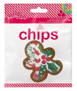 Pebbles Home For Christmas Chips Christmas Scrapbook Die Cut Embellishments