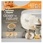 Tommee Tippee Closer to Nature Microwave Steam & Cold Water Steriliser