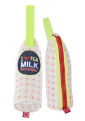 Sweet Morning insulated bottle tote holder Beige