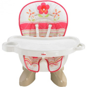 Fisher Price Space Saver High Chair Sunny Flower Pink