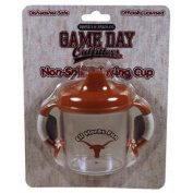 Officially Licenced NCAA Texas Longhorns College Colours Infant/Baby No Spill Mug