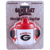 Officially Licenced NCAA Georgia Bulldogs College Colours Infant/Baby No Spill Mug