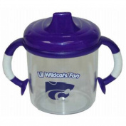 Officially Licenced NCAA Kansas State Wildcats College Colours Infant/Baby No Spill Mug