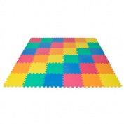 Rainbow Interlocking EVA Foam Baby Mat Children Crawling Playing Floor 36 PCS