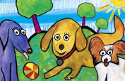 Wagging Tails and Puppy Dog Tail - Imaginaton Mat - 28cm x 43cm
