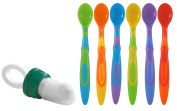 The Original Baby Safe Feeder with Soft Tip Infant Spoons