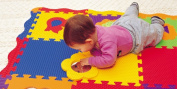 Baby Play Mat for Babies and Toddlers. Baby Activity Play Mat Is One of Many Baby Learning Toys From Edushape. Edushape Creates Unique Baby Toys. Comes with Embedded Foam Baby Animal Toys. Educational Baby Toys Can Stumulate Early Childhood Learning.