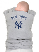 Moby Wrap MLB Edition Baby Carrier, New York Yankees, Grey