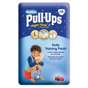 Huggies Pull Ups Night Time Potty Training Pants for Boys Size 6 Large 16-23kg