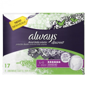 Always Discreet Incontinence Underwear, Maximum Absorbency, Large, 51 Count