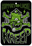 Support Your Local Kreep - Coconut Scented Air Freshener from Sourpuss Clothing