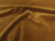 SyFabrics 100% cotton velvet fabric 140cm wide Caramel