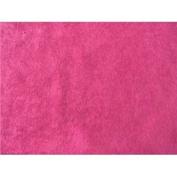 SyFabrics alova suede cloth fabric 150cm wide Hot Pink