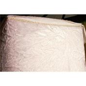 SyFabrics crushed velvet fabric 110cm wide White