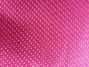 SyFabrics large sports jersey mesh fabric 150cm wide Hot Pink