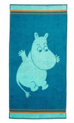 Moomin Valley Moomin Mint Children's Face or Hand Terry Towels By Finlayson & Moomin CharactersTM 30x50 Cm