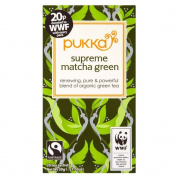 Pukka Supreme Green Matcha Organic Tea