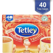 Tetley Redbush Vanilla Tea