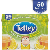 Tetley Green Tea Lemon Bags