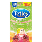 Tetley Green Tea with Raspberry & Pomegranate