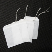 100pcs/lot Empty Teabags String Heat Seal filter Paper Herb Loose Tea Bags Teabag