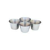 Norpro 208 Stainless Steel Sauce Cups Set of 4
