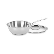 Cuisinart 735-24 Chef's Classic Stainless 2.8l Chef's Pan with Cover