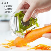 3 in 1 Peeler Grater Slicer Cooking Tools Vegetable Potato Cutter 2014 NEW Kitchen Utensils Gadgets Novelty Household
