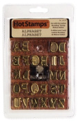 Walnut Hollow Leather Branding Hot Stamps Alphabet 29379